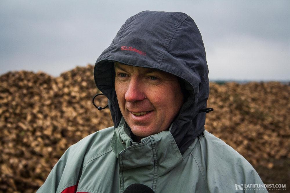 Тарас Навроцкий, агроном предприятия «Агросвит-Волынь»